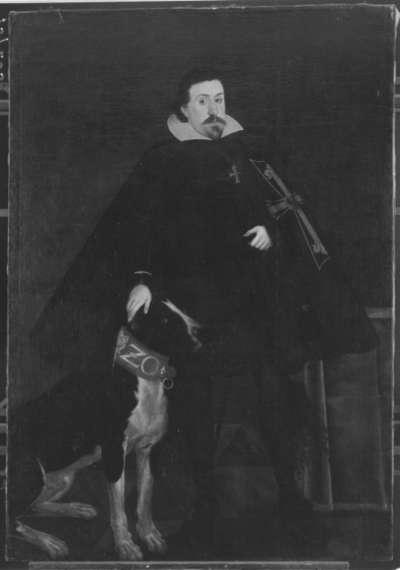 Bildnis eines Prinzen (Erzherzog Maximilian III., 1558-1618) in Deutschordensmeistertracht