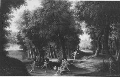 Räuberüberfall im Wald