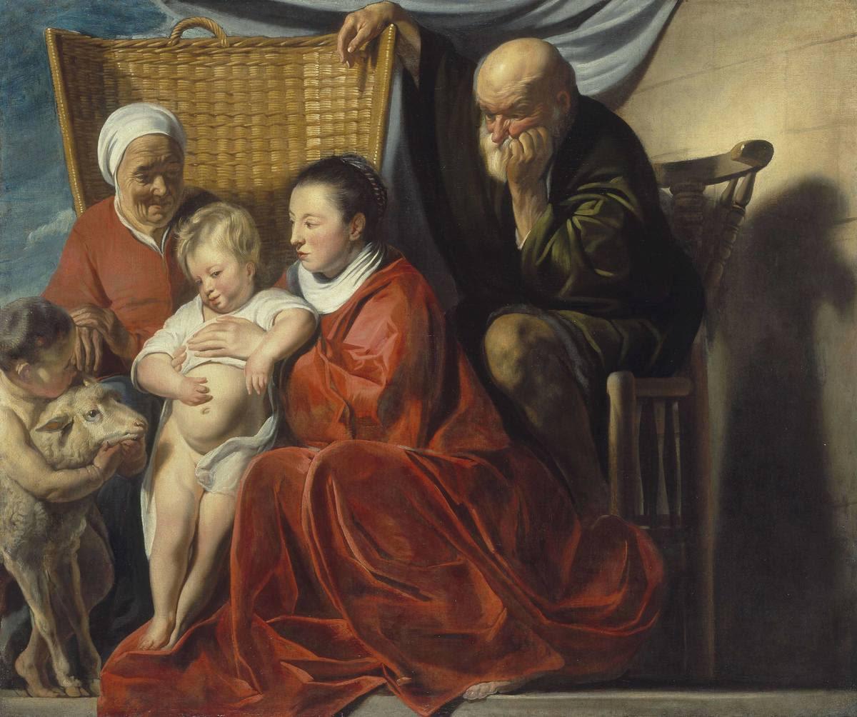 Die Heilige Familie mit Anna und dem Johannesknaben