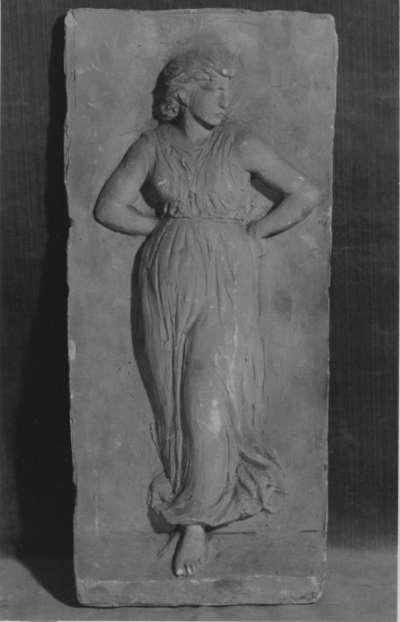 Reliefstudie einer Tänzerin