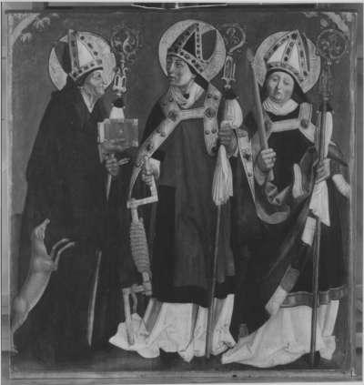 Die hll. Aegidius, Erasmus und Blasius