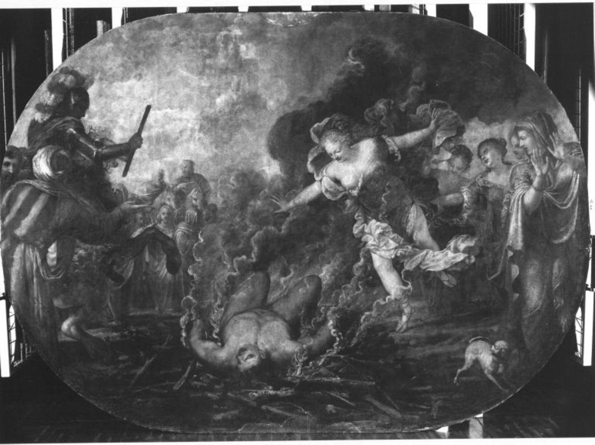 Evadne und Kapaneus