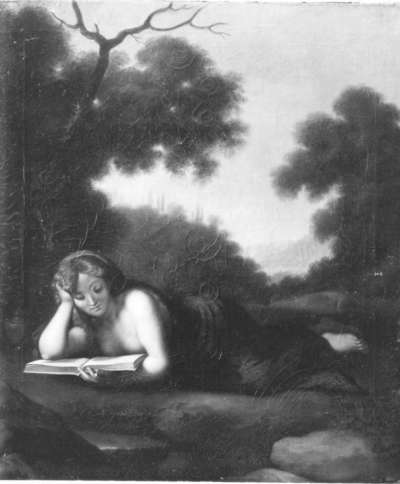 Die büßende Magdalena (nach Correggio)