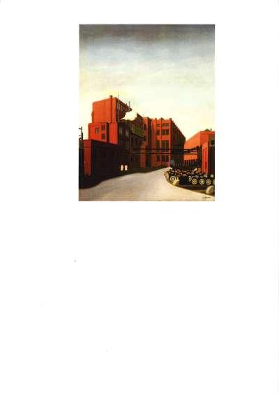Fabrikgelände /  Weißer Rauch (Fabrikhof)