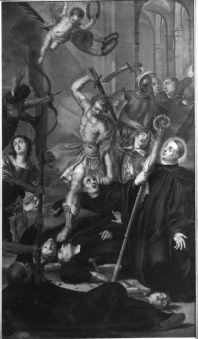 Das Martyrium des hl. Placidus und seiner Gefährten