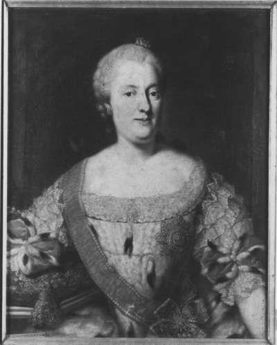 Bildnis der Maria Anna, Gemahlin des Kurfürsten Max III. Joseph von Bayern