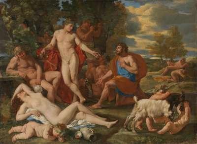 Midas und Bacchus