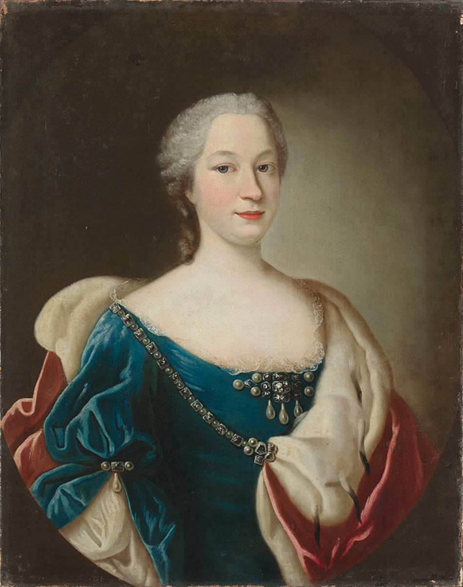 Bildnis der Franziska Christina von Pfalz-Sulzbach (1696-1776)