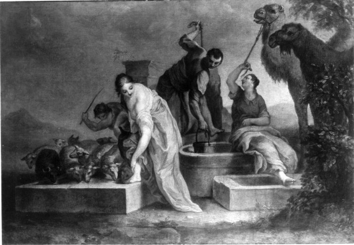 Rebecca am Brunnen