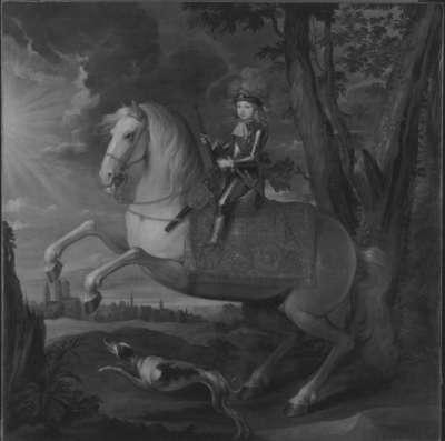Bildnis des späteren Kurfürsten Maximilian III. Joseph von Bayern als Knabe