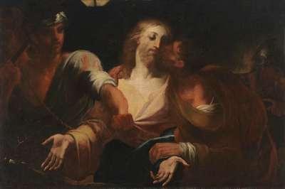 Der Judaskuss und die Gefangennahme Christi