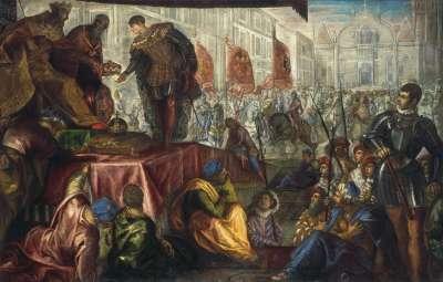 Der Gonzaga-Zyklus, Die Erhebung des Giovanni Francesco zum Markgrafen von Mantua