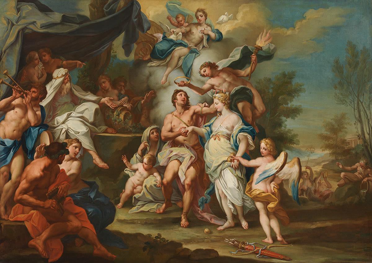 Vermählung des Hippomenes