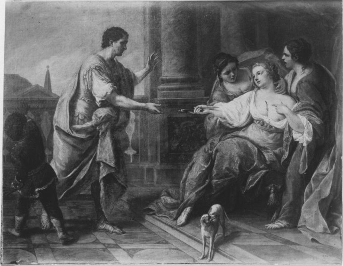 Lukretia und Collatinus