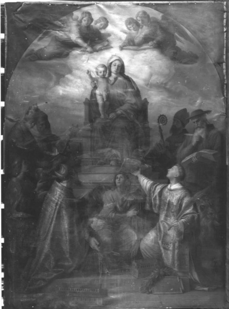 Thronende Muttergottes mit Heiligen (Madonna in Trono)