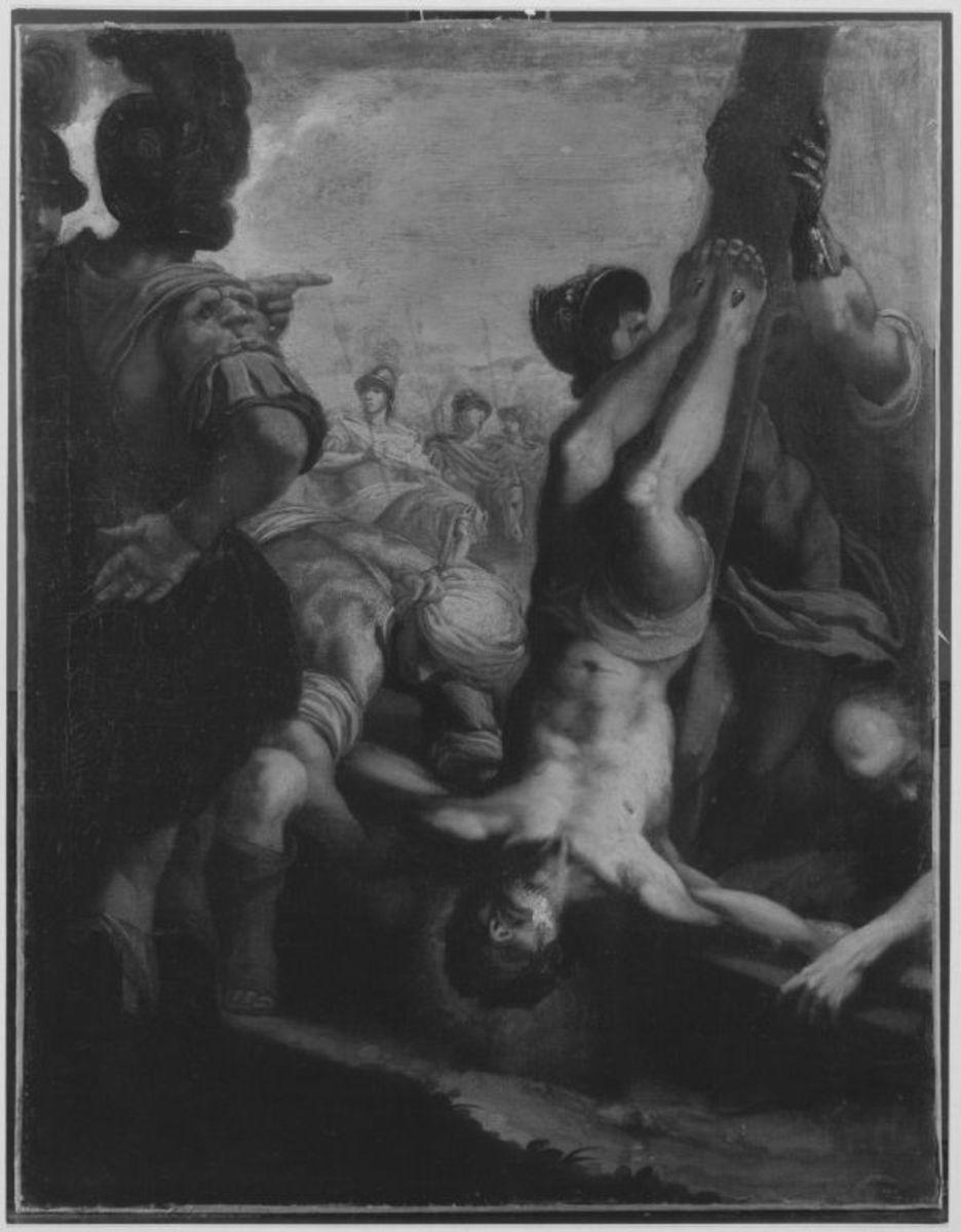 Die Kreuzigung des hl. Petrus