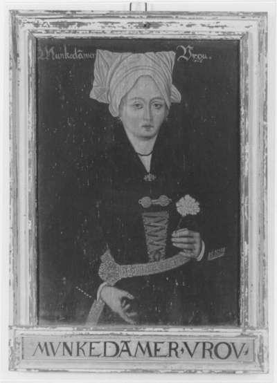 Kostümbild Munkedamer Vrou