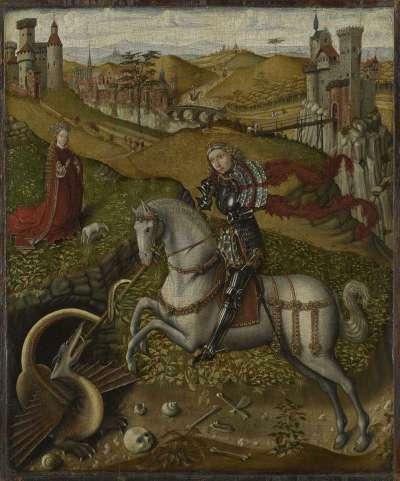 Der hl. Georg mit dem Drachen