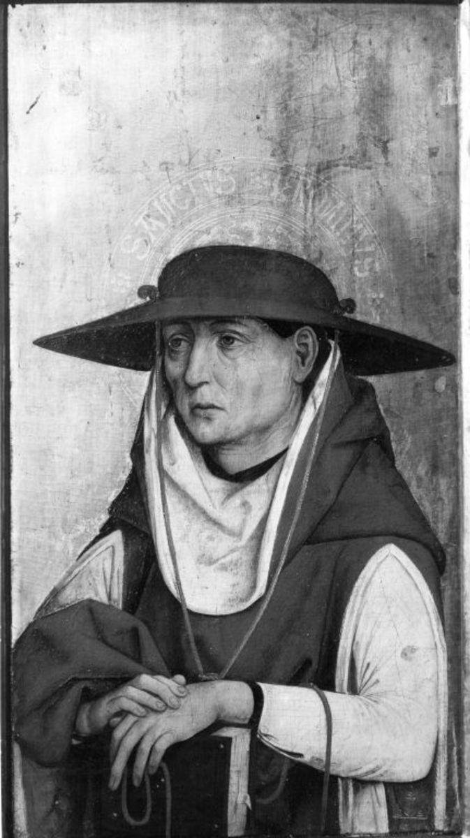 Hl. Hieronymus Außenseite: Marter der Zehntausend