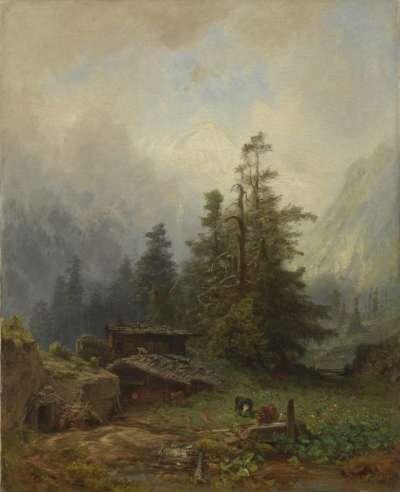 Eine Alpe