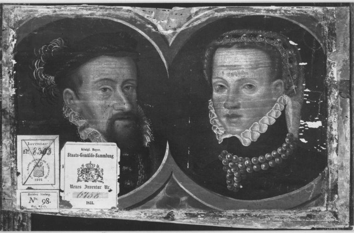Doppelbildnis Kaiser Maximilian II. und Kaiserin Maria