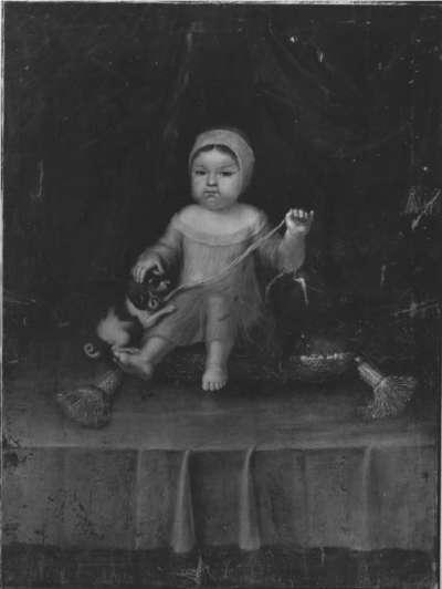 Kinderbildnis der Violanta Beatrix, Tochter des Kurfürsten Ferdinand Maria von Bayern