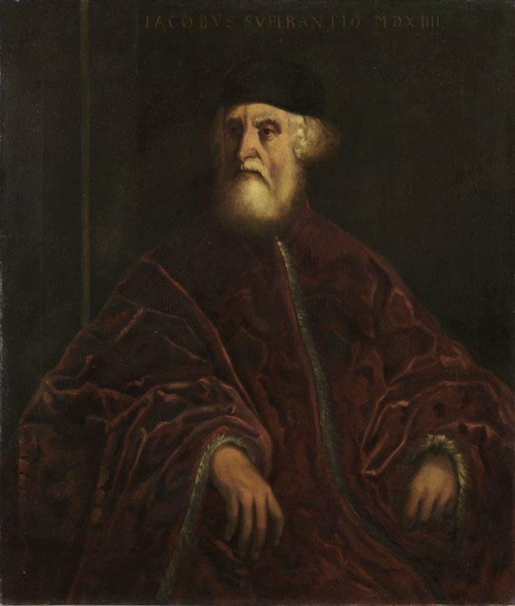 Der Prokurator Jacopo Soranzo (nach Tintoretto)