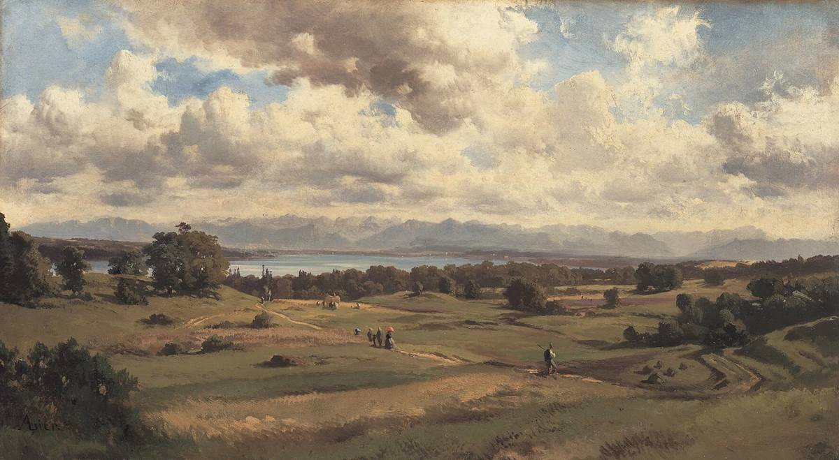 Sommerlandschaft am Starnberger See
