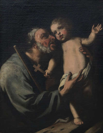 Hl. Joseph mit dem Kinde