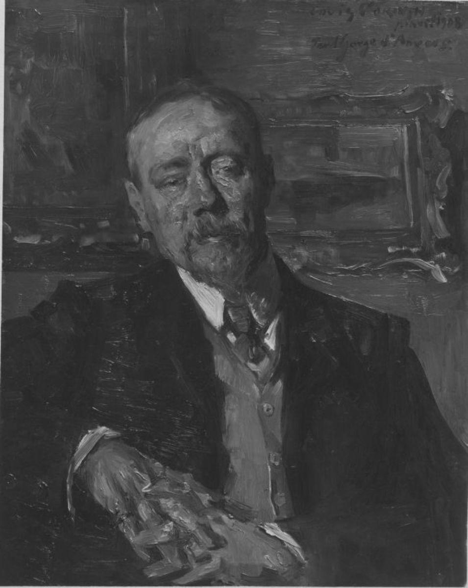 Der Maler Paul Gorge