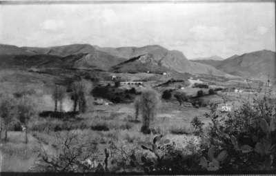 Landschaft bei Ajaccio