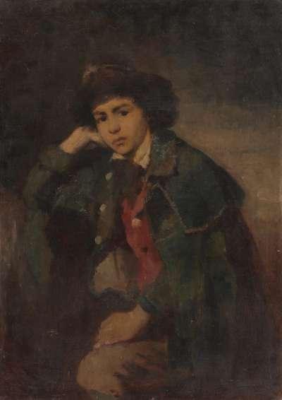 Bildnis eines jungen Savoyarden