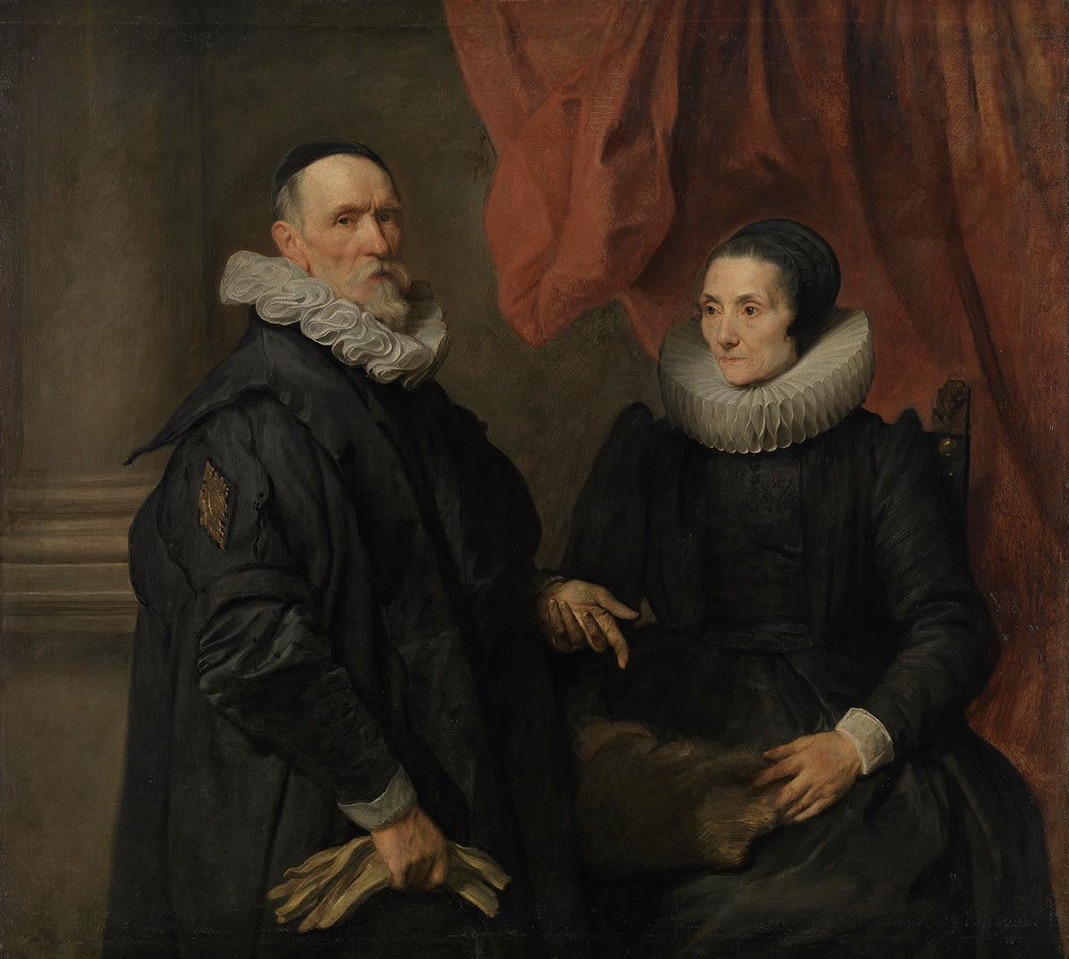 Der Maler Jan de Wael und seine Frau Gertrud de Jode