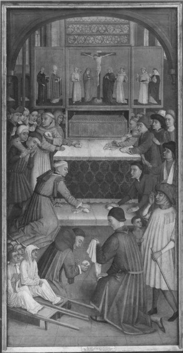Das Blutwunder des hl. Bernhardin von Siena