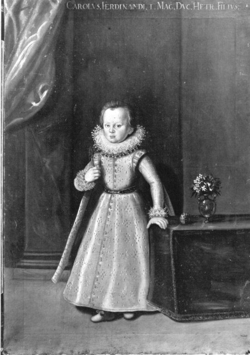 Kinderbildnis des Prinzen Carl von Toskana, Sohn des Großherzogs Ferdinand I.