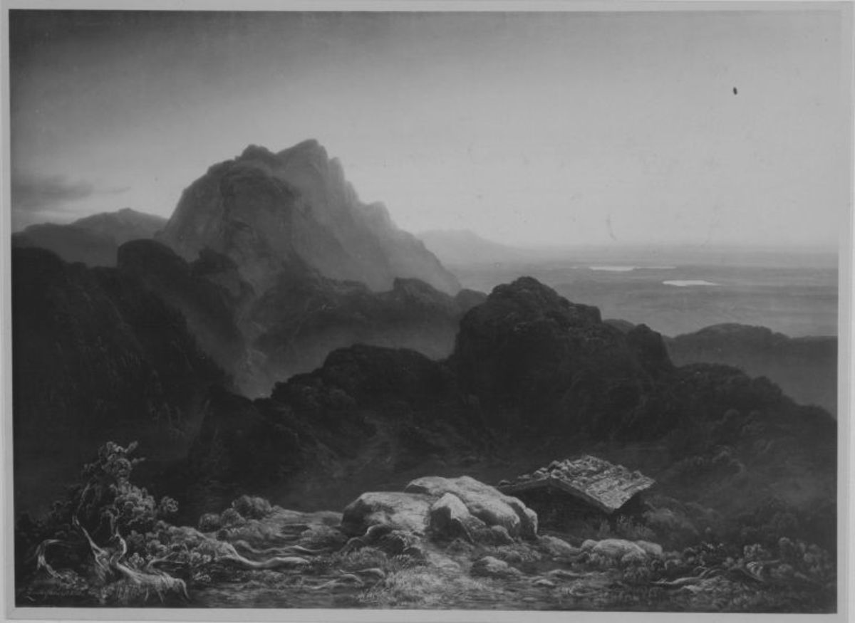 Die Benediktenwand im bayerischen Hochgebirge