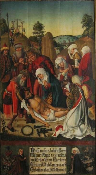 Epitaph der Barbara Volckamer mit Beweinung Christi