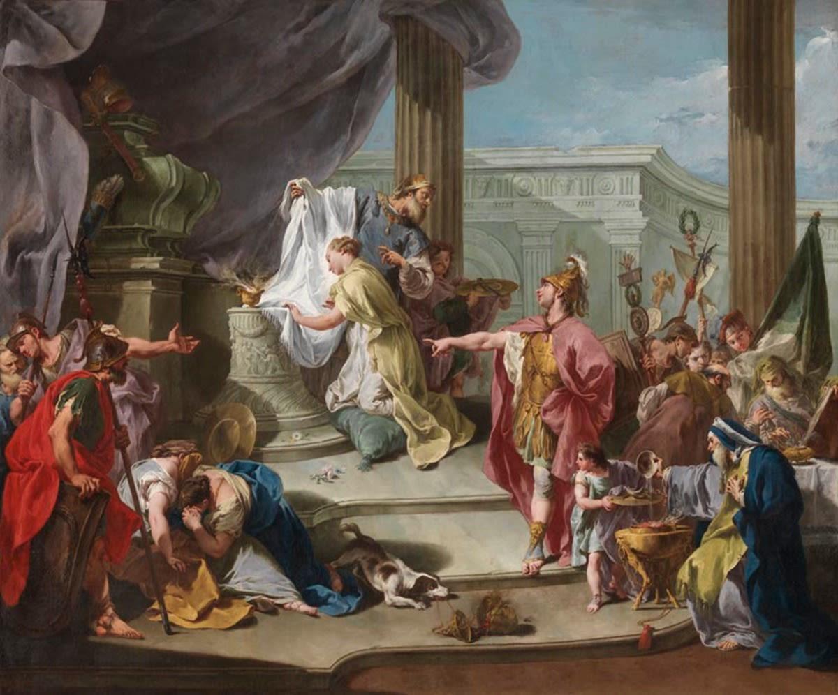 Opferung der Polyxena