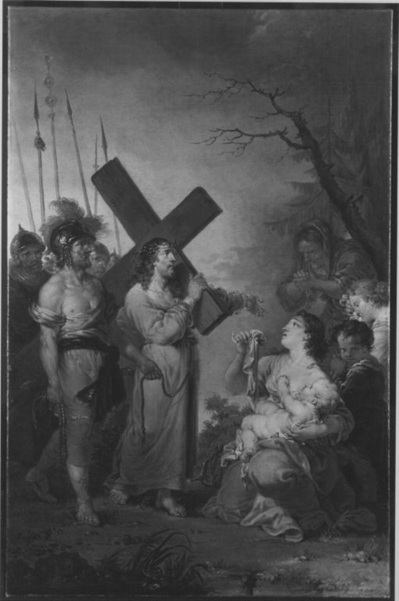 Christus begegnet den weinenden Frauen