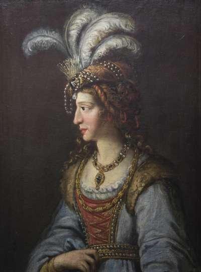 Margaretha, Gemahlin des Herzogs Alexander von Zweibrücken (1480-1522)