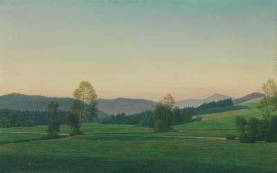 Landschaft im Bayerischen Wald