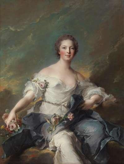 Die Marquise de Baglion als Flora