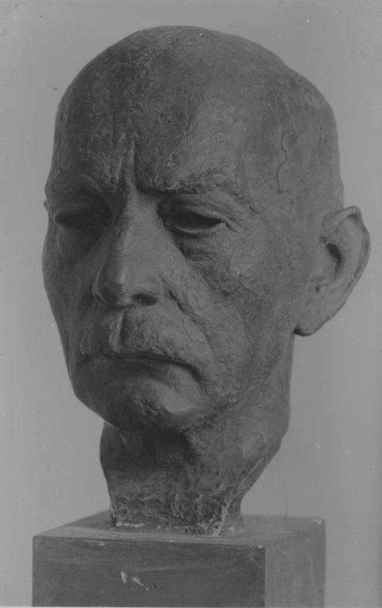 Porträt Prof. von Zahn, Universität Jena