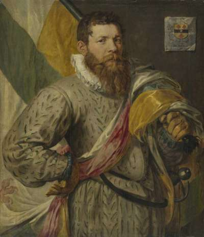 Bildnis des Hendrick Jansz. Spijcker, gen. de Veer, als Fähnrich