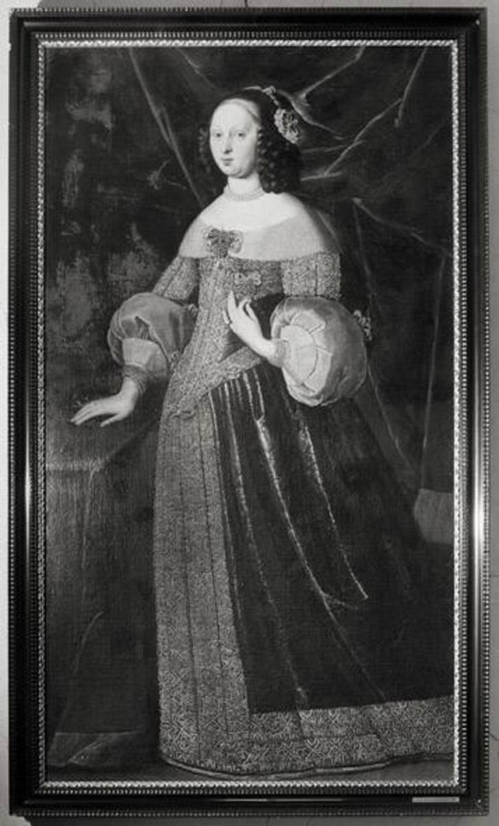 Bildnis der Sophie Margarethe, geb. Gräfin von Oettingen, Gemahlin des Markgrafen Albrecht von Ansbach