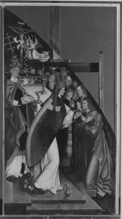 Fronleichnamsaltar: Die Eucharistiefeier