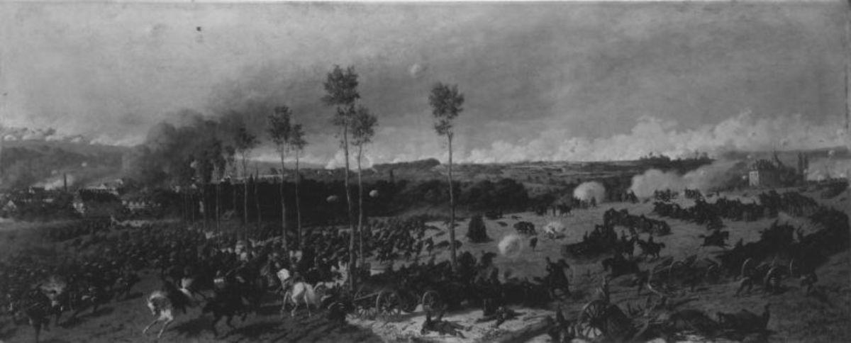 In der Schlacht bei Sedan am 1. September 1870