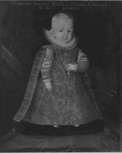 Kinderbildnis des Prinzen Wladislaus Sigismund, Sohn Sigismunds III.