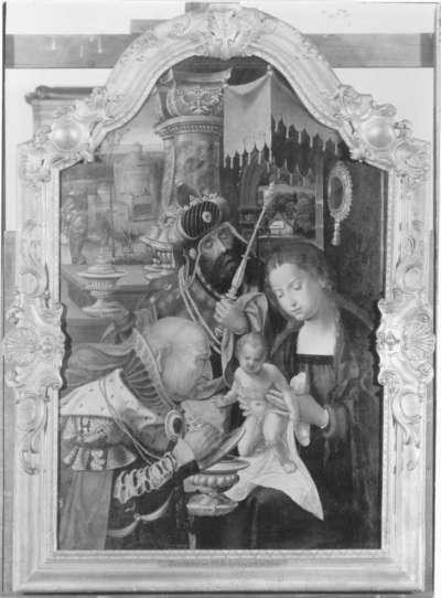 Triptychon: Anbetung der Könige