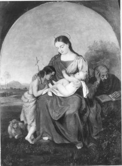 Heilige Familie mit dem Johannesknaben
